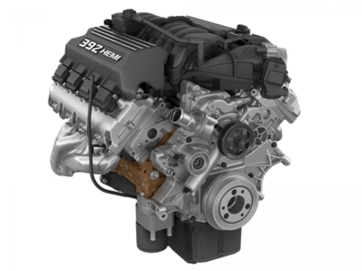 Mopar Performance 392 Crate HEMI Engine (Part No: 68303090AA)