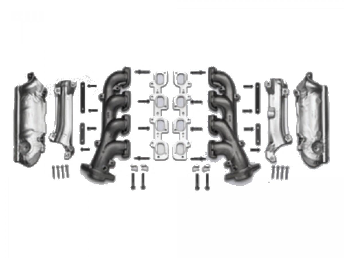 genuine mopar performance exhaust manifolds  part no